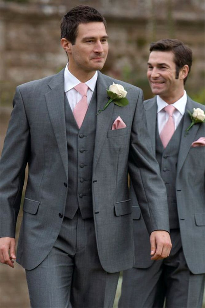 30 The Most Popular Groom Suits | Wedding, Groom grey suits and ...