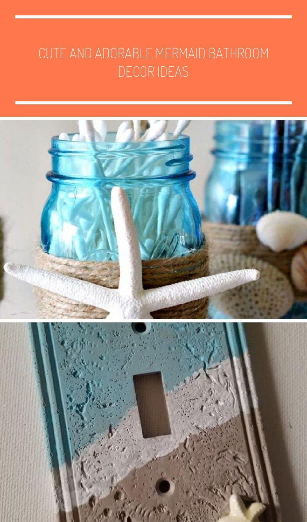 Cute And Adorable Mermaid Bathroom Decor Ideas Bathroom Decor