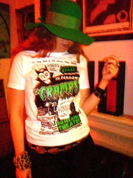 THE CRAMPS MONSTERS POSTER T-SHIRT METEORS GARAGE STOOGES PUNK