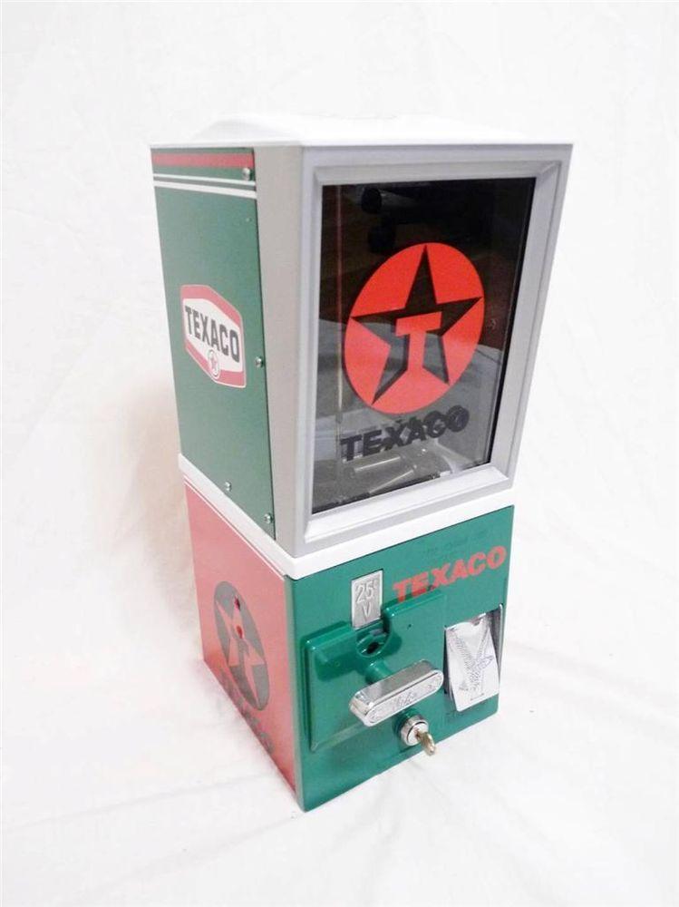 TEXACO DECAL STICKER NORTHWESTERN GUMBALL MACHINE