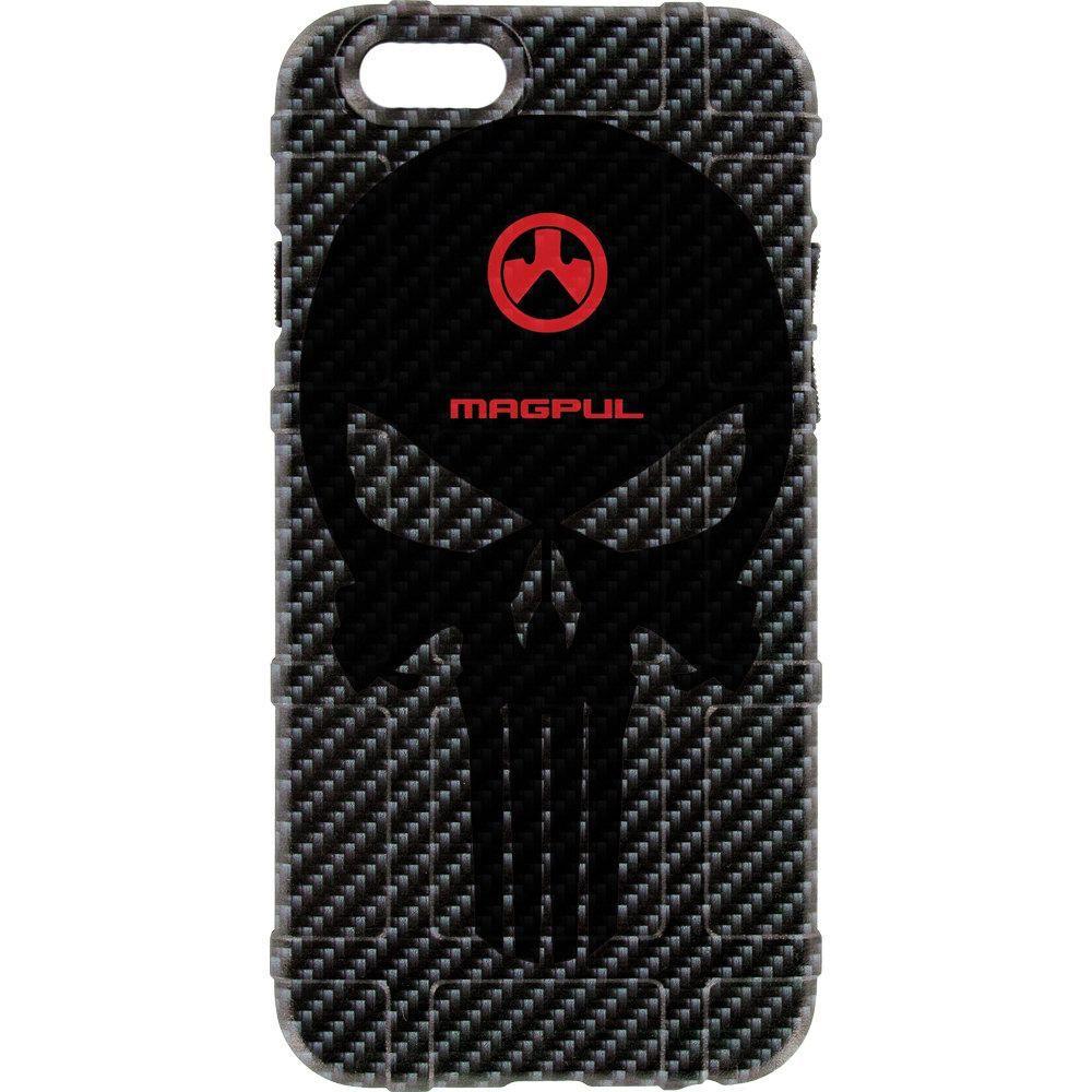 Black imperial punisher on black carbon fiber iphone 6