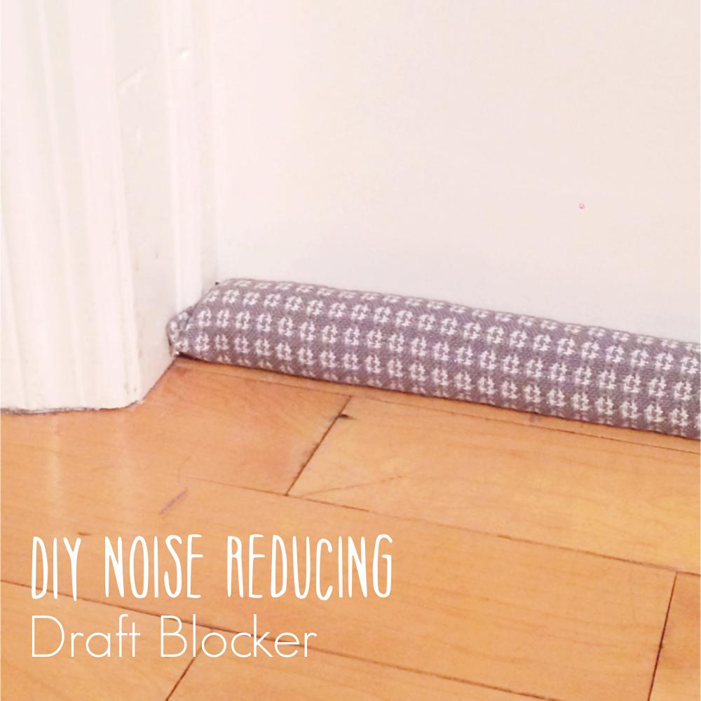 Anibunni diy noise reducing draft blocker decrease diy for Reduce sound in a room