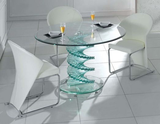 glassdiningroomtables Glass Dining Table Only Glass