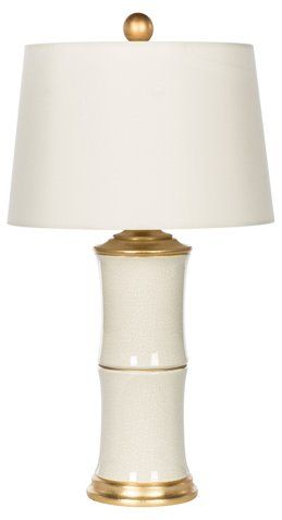 Bamboo Style Table Lamp White Gold Now 387 50 Was 485 00 Table Lamp Lamp Bamboo Lamp