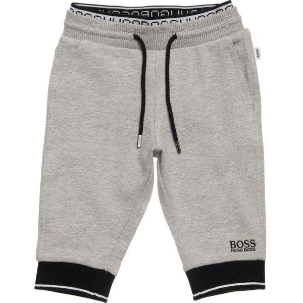 Hugo Boss Kids Grey Jersey Shorts