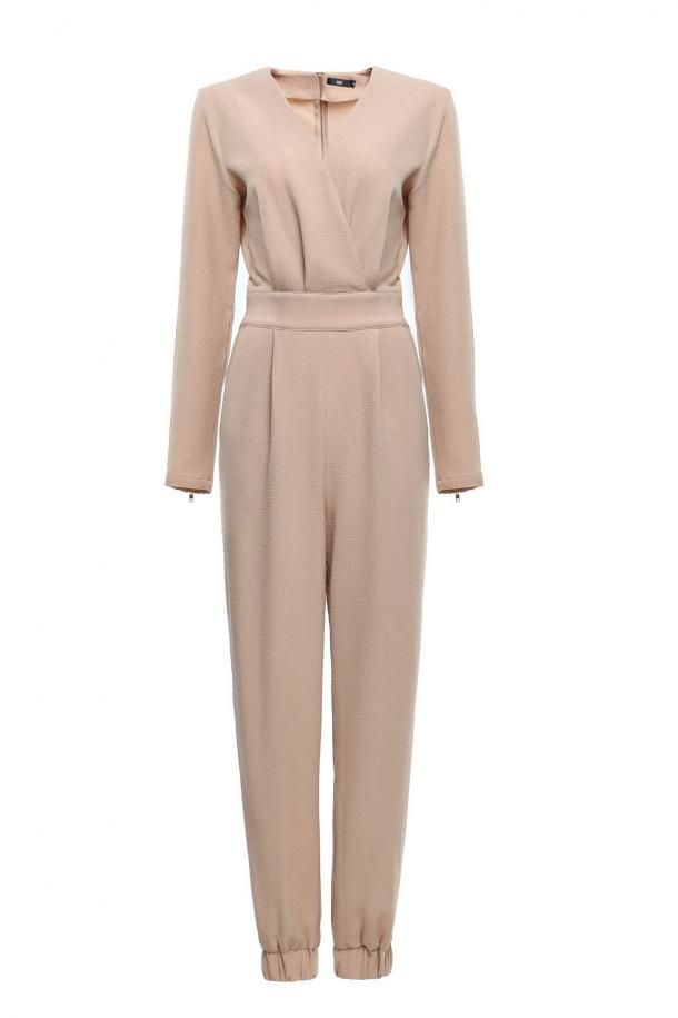 ed58b6f1235d Hijab House Taupe Jumpsuit - For a more modest look I would wear a  sleeveless cover-up over it