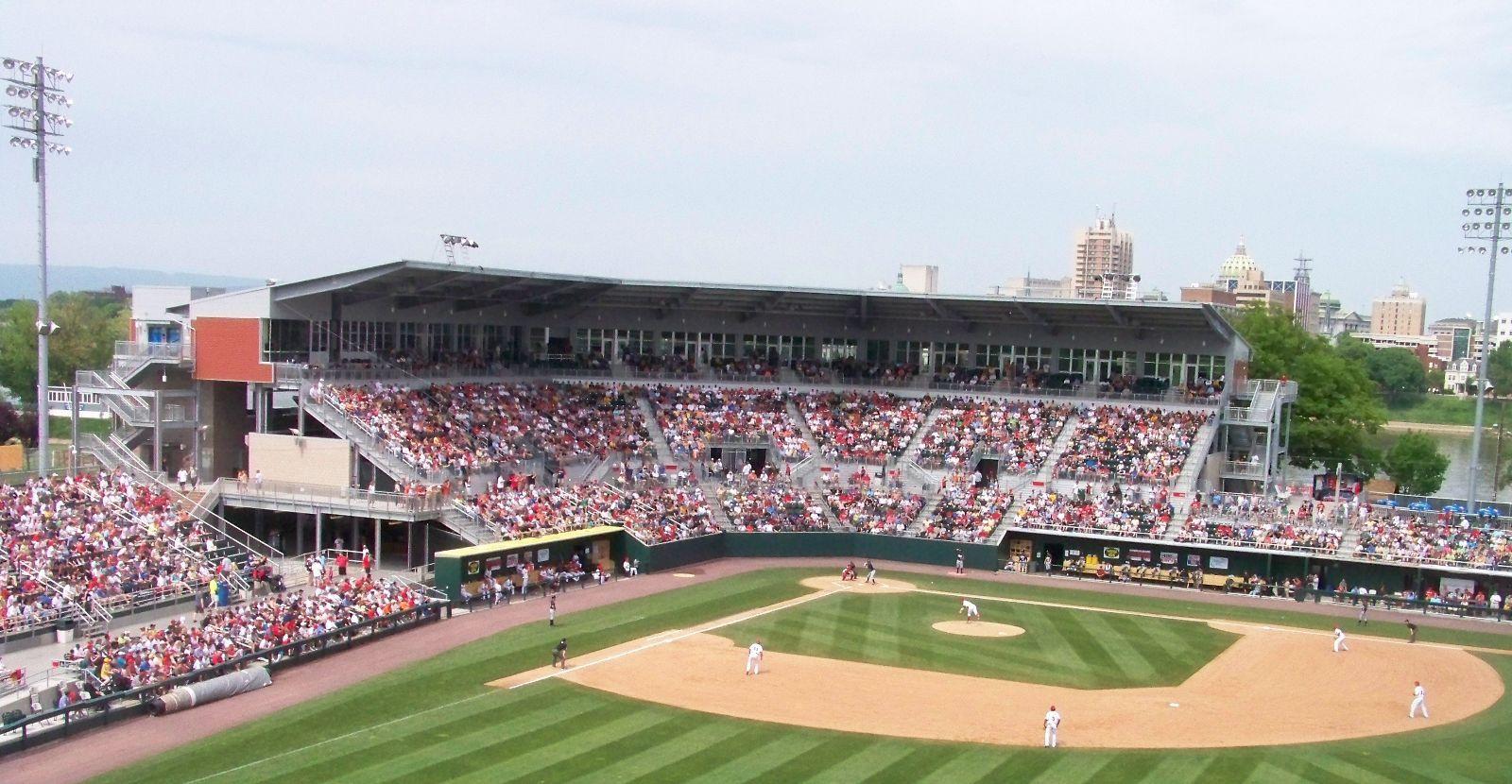 Enjoy Minor League Baseball On City Island Cheering On The Harrisburg Senators