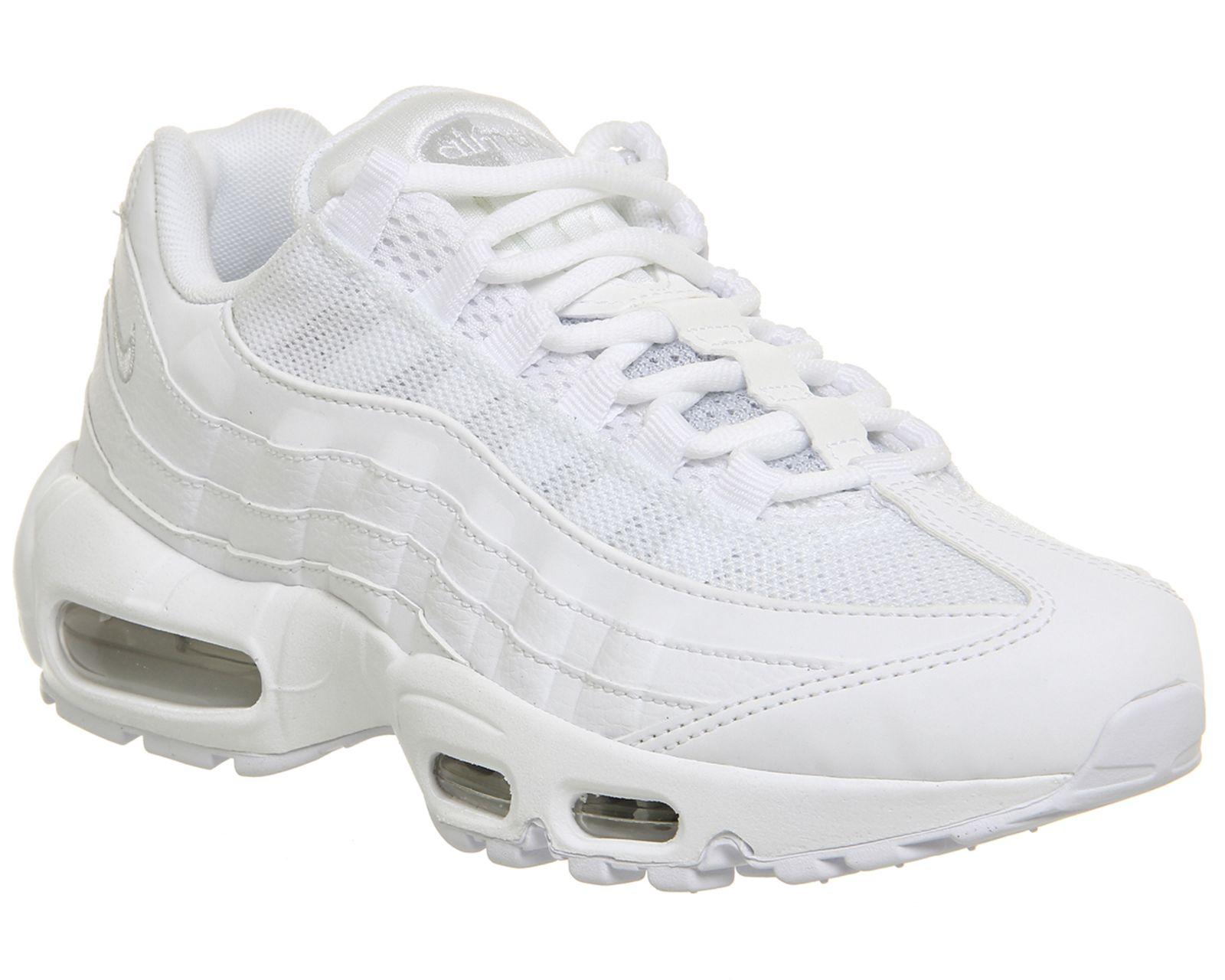 huge discount 74747 1545d Nike, Air Max 95, White Pure Platinum