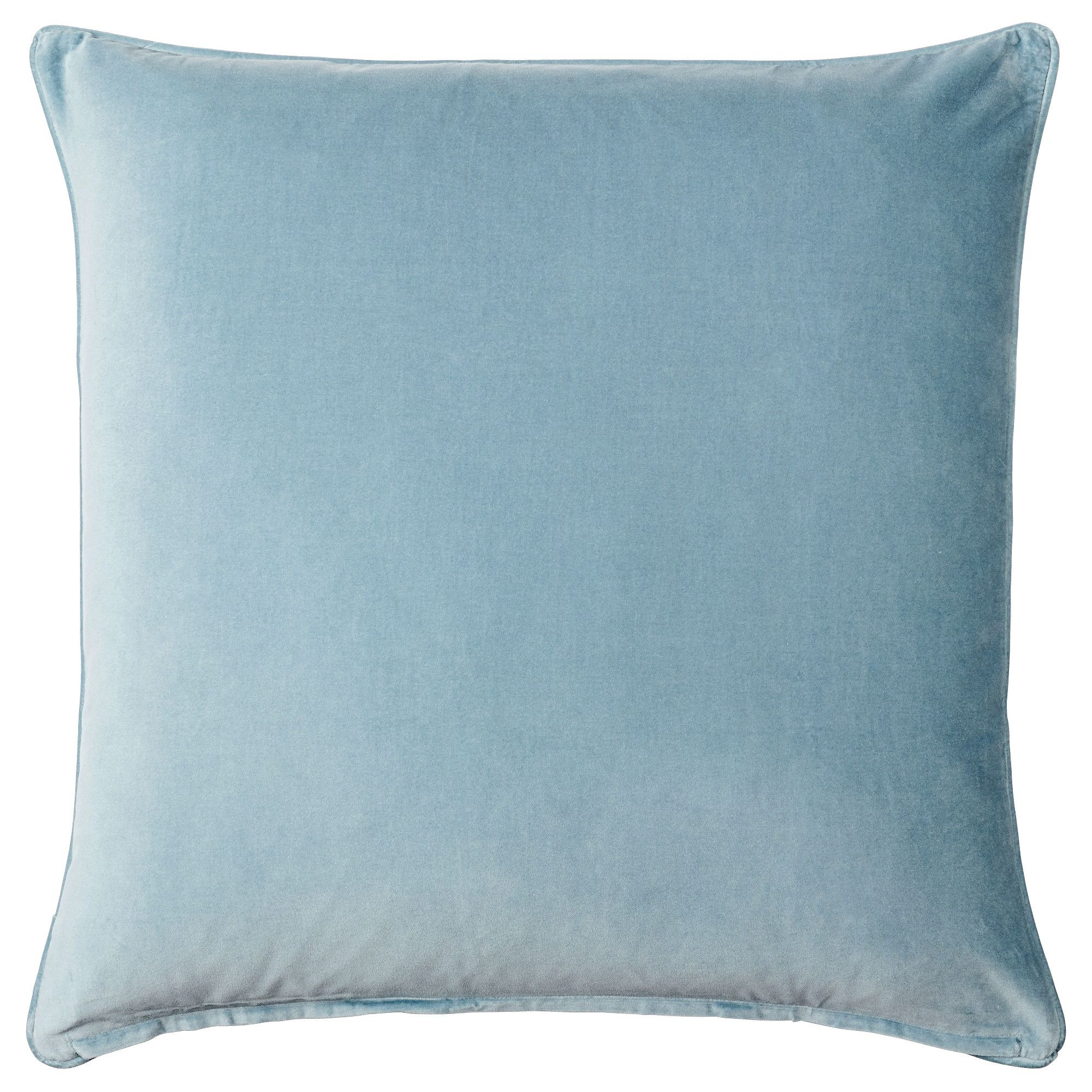 Sanela cushion cover light blue living spaces bedrooms and spaces