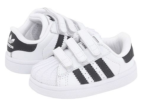 adidas Originals Kids Superstar 2 H&L (Infant/Toddler) White/Black/White