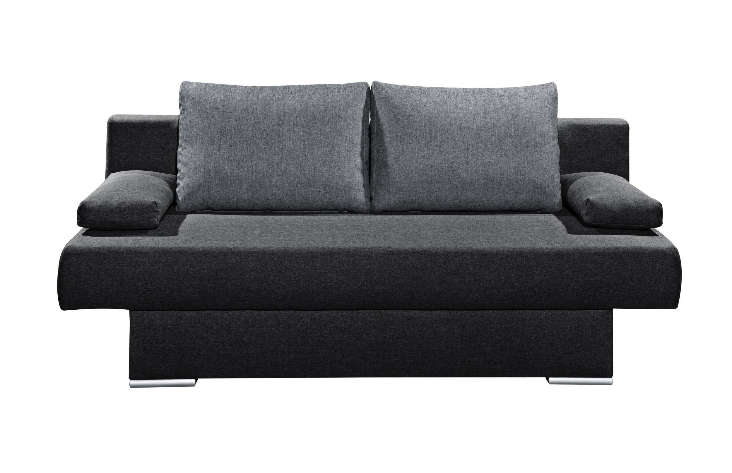 dieses sofa mit schlaffunktion und bettkasten ist das ideale, Wohnzimmer dekoo