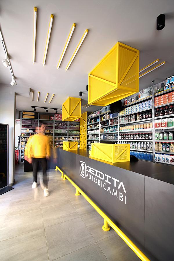 Cr Service Garage Design Interior Shop Interior Design Warehouse Design