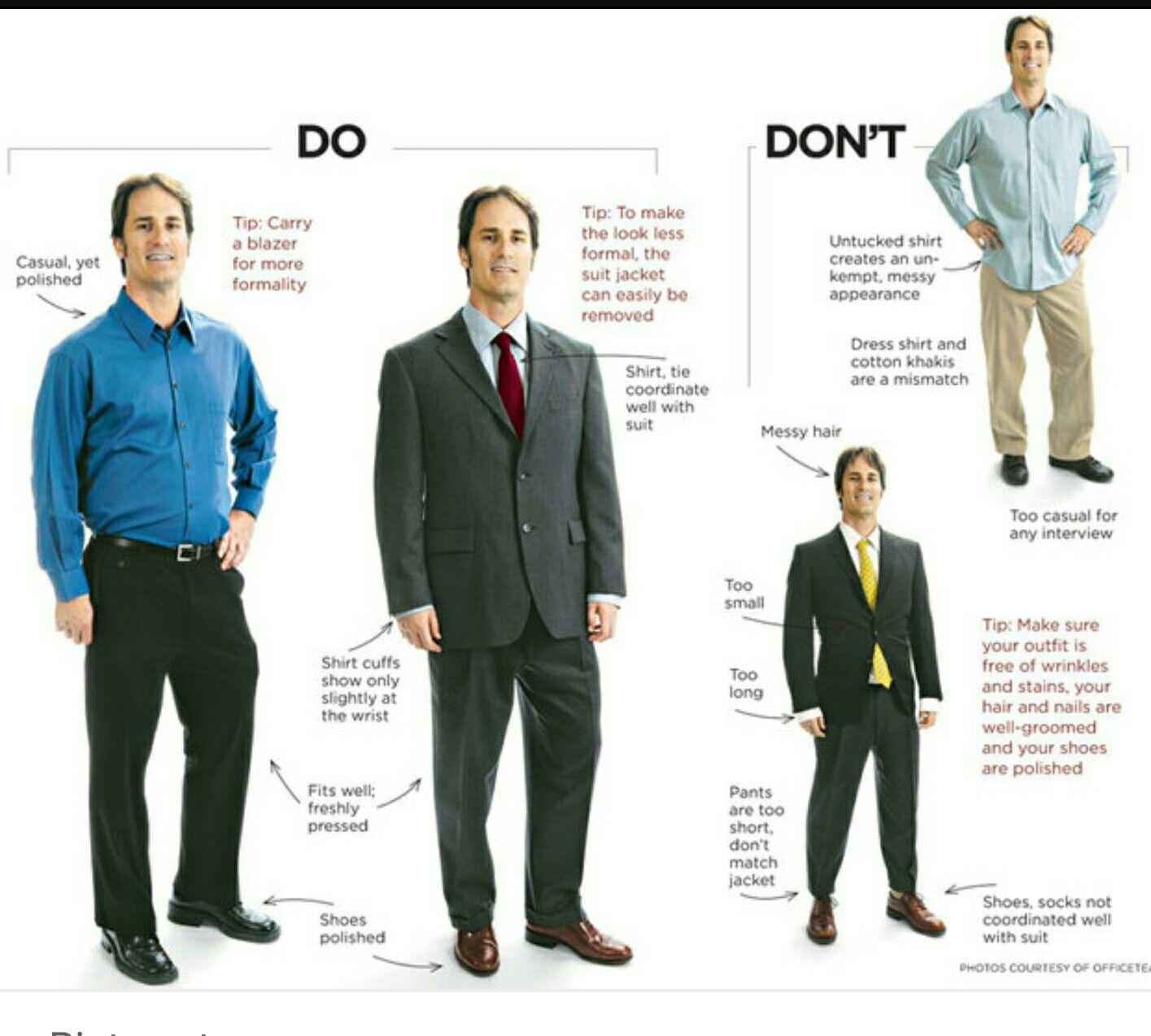 It is important to look professional at a job interview this image it is important to look professional at a job interview this image shows both the ccuart Choice Image