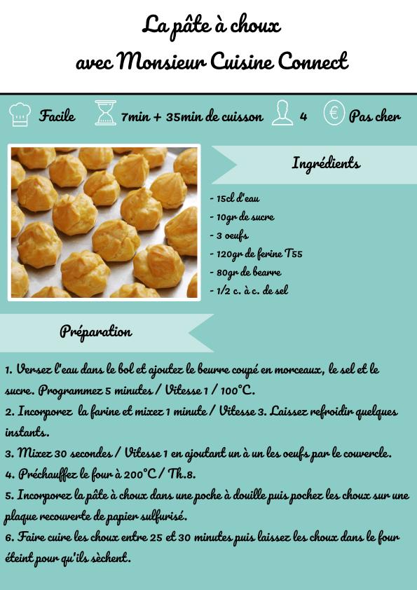 Recette Pâte à Choux Monsieur Cuisine Connect Lidl En 2020 Cuisine Lidl Recette Monsieur Cuisine Plus Recette Mr Cuisine
