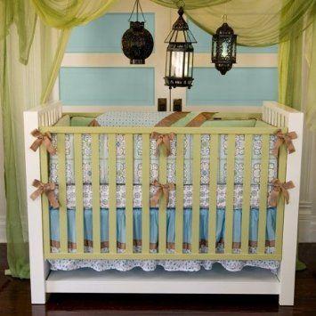 Caden Lane Modern Vintage Collection Ryan Crib Bedding Set ...