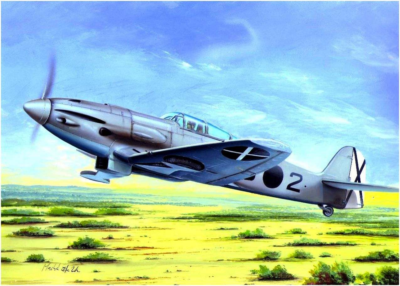 Heinkel He112B0 of the Nationalist SCW Spanish Civil