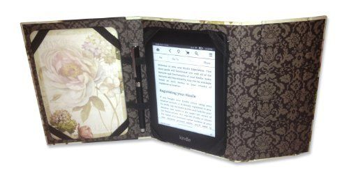 Decorative Kindle Case with Notepad & 2-n-1 Stylus - Marche