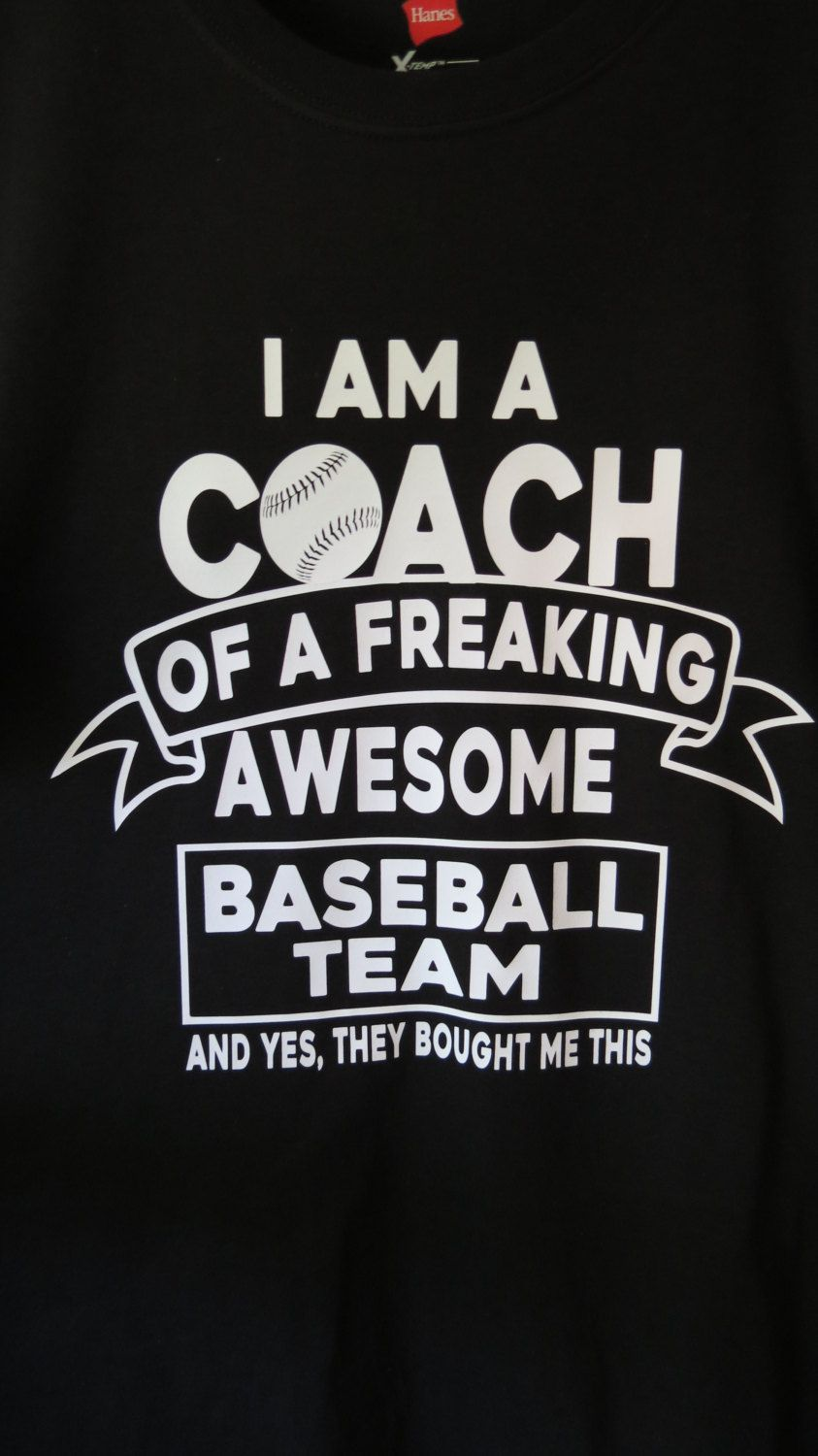 Funny Coach Shirt Softball Baseball Football Soccer Etsy Coach Shirts Balls Shirt Softball