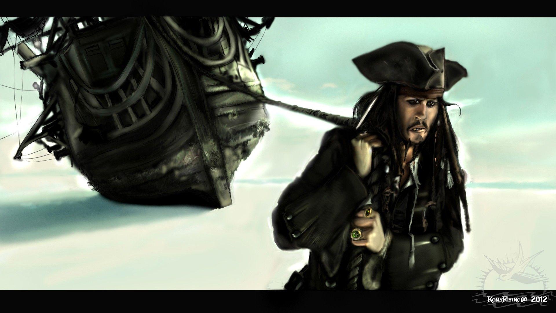Paintings Pirates Pirates Of The Caribbean Digital Art