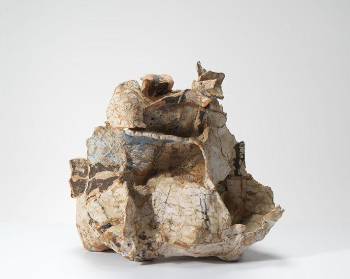 """Ewen Henderson #ceramics [""""buttressed form"""", 1980's]"""