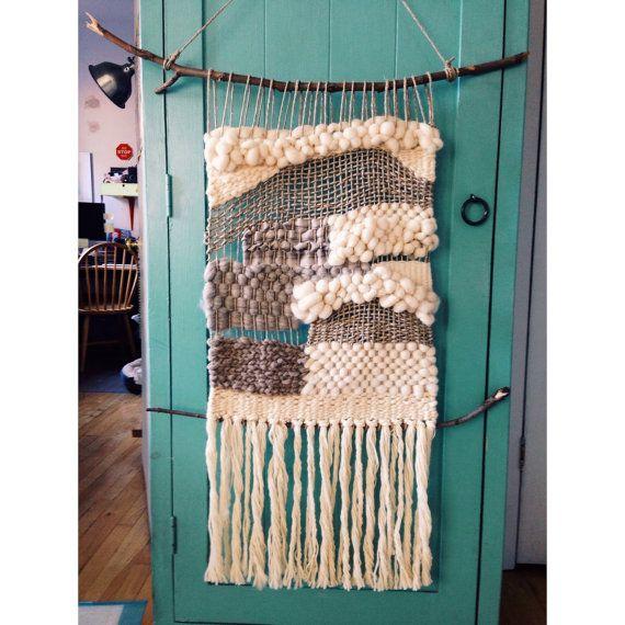 Natural Woven Wall Hanging Weaving macramé dream catcher