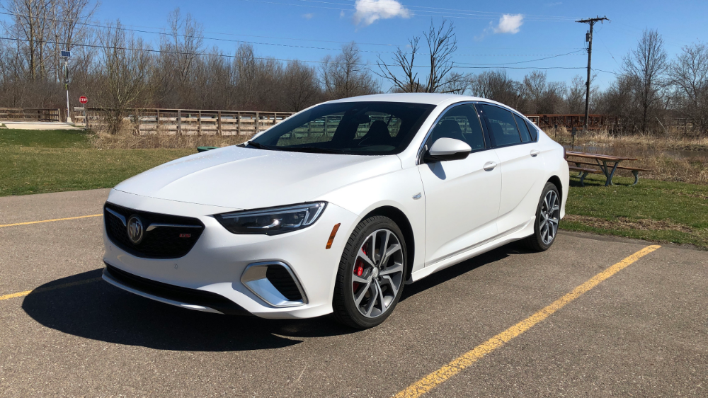 2019 Buick Regal Gs Review Performance Handling And Technology Autoblog Buick Regal Gs Buick Regal Buick Cars