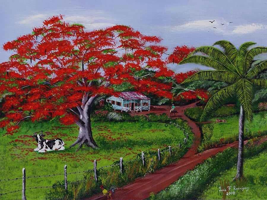 Arte inspiraci n a la vida en el campo casitas - Casitas de campo ...