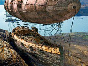 """Captain Shakespeare's flying ship in """"Stardust"""""""