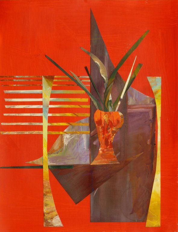 Dusanka Badovinac. Red Vase