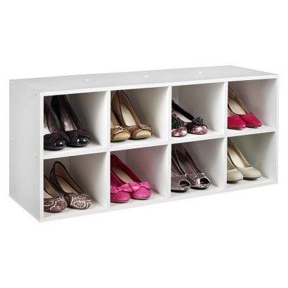 Target Closetmaid Shoe Organizer White Image Zoom Shoe Organizer Stackable Shoe Rack Shoe Rack