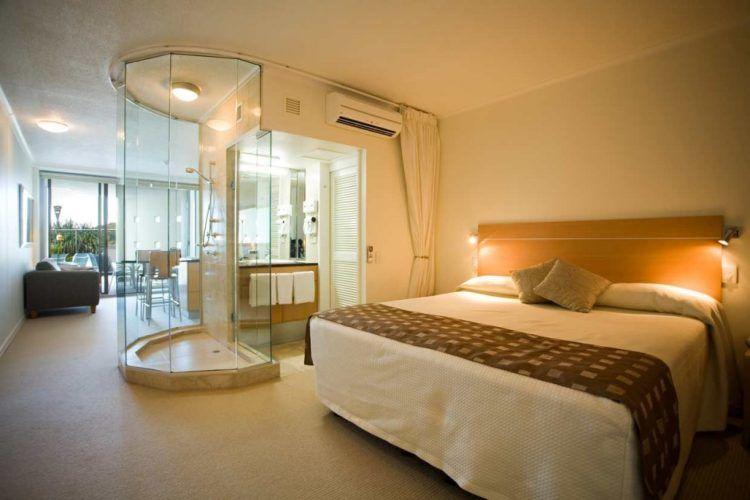 Beautiful Bedroom With Bathroom Designs Bathroom Designs - Open plan bedroom and bathroom designs