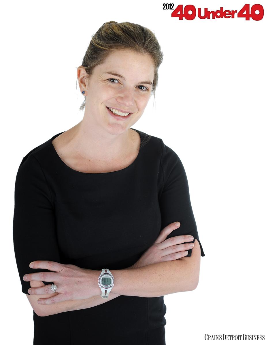 Crain's 40 under 40 Kristin Myers, 32 Principal investment