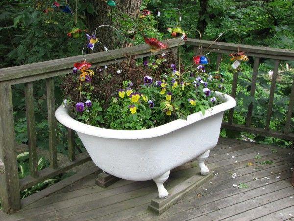 Vasca da bagno per giardino vasca e doccia combinate for Vasca giardino