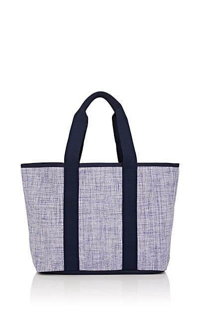 c7e13458405 We Adore  The Leather-Trimmed Woven Tote Bag from Barneys New York at  Barneys Warehouse