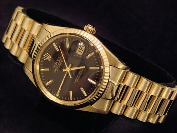 fea2967f887c Mens Rolex Solid 14k Gold Date...   Time   Pinterest   Rolex ...
