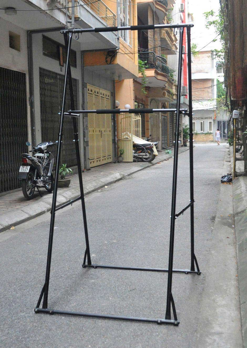 87996d10779 Double tiered Pull up bar (horizontal bar) Model KT1.HT is used for both  children and adult. KHANH TRINH offer free standing pull up bars for  several ...