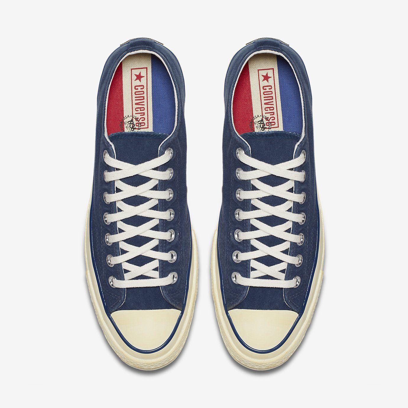 e8635cfa4384 Converse Chuck 70 Vintage Canvas Low Top Unisex Shoe. Nike.com ...