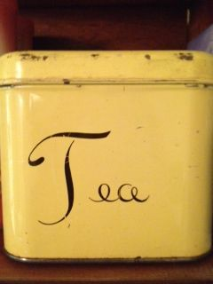 Everyone needs a tea tin. I have two :)