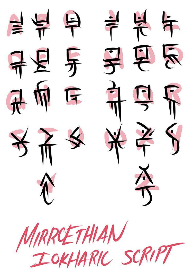 Draconic Symbols Topsimages