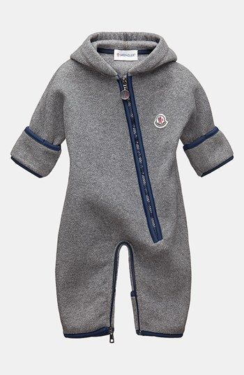 91f69ed71 Moncler Fleece Bunting (Baby Boys) available at  Nordstrom