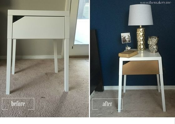 Ikea Selje Nightstand Hack