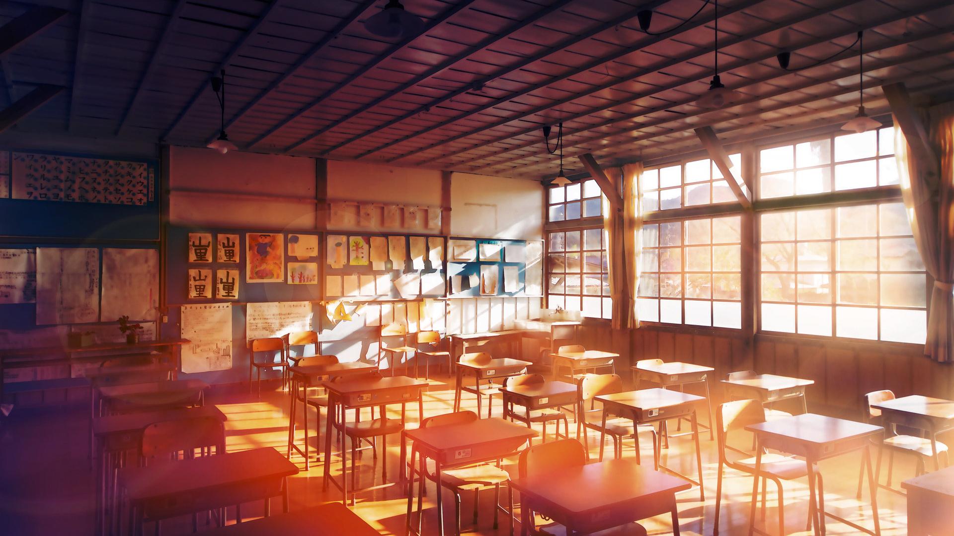 Scenic Empty Classroom Brings Nostalgia To Me 1920x1080 Amp