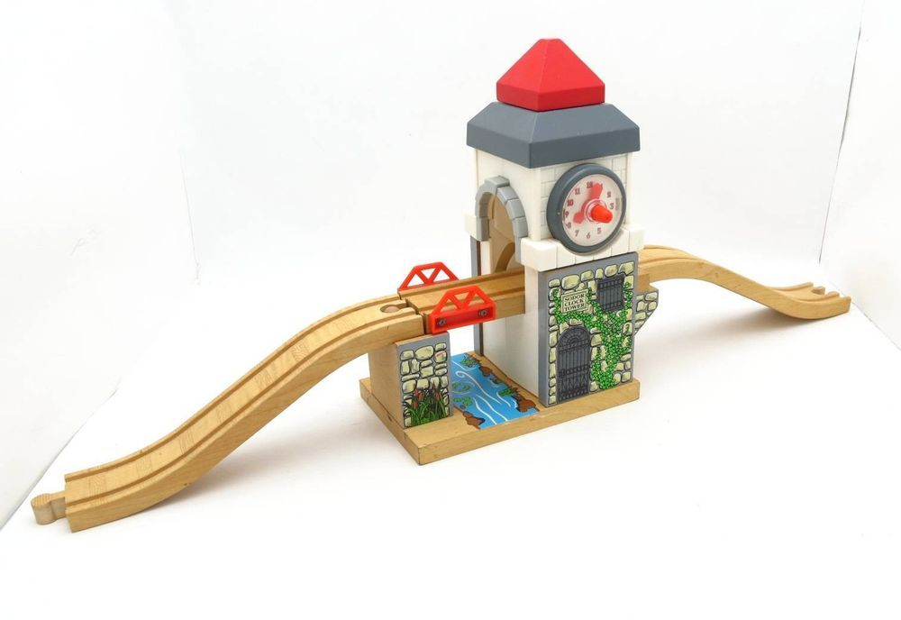 Castle Clock Tower W Track Thomas The Tank Engine Wooden Train