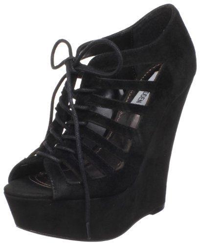steve madden women's wedge | Steve Madden Women's Watchout Wedge Sandal ( Steve Madden ankle strap ...