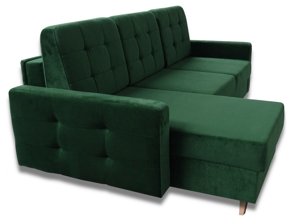 Vegas Futon Sectional Sofa Bed Queen Sleeper With Storage Midcentury Sleeper Sofas By Meble Furniture Rugs Sofa Modern Sofa Bed Futon Sectional