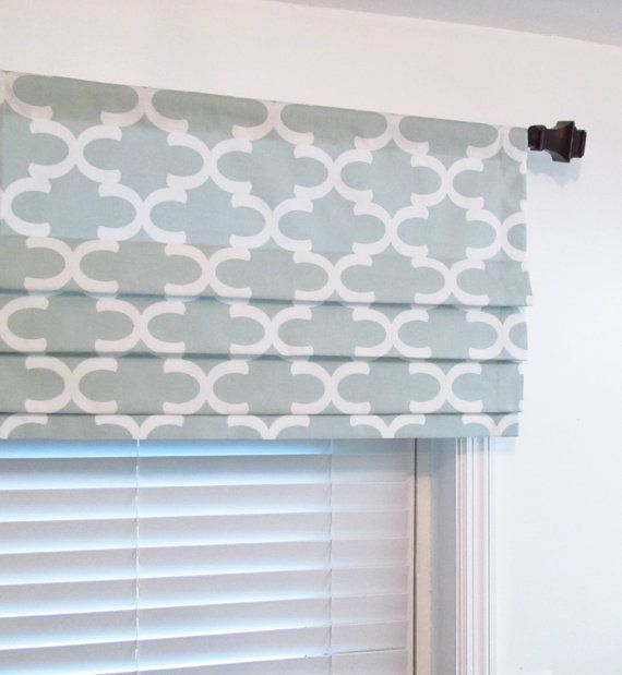 Faux Hobbled Roman Shades On Decorative Rod Google Search Faux