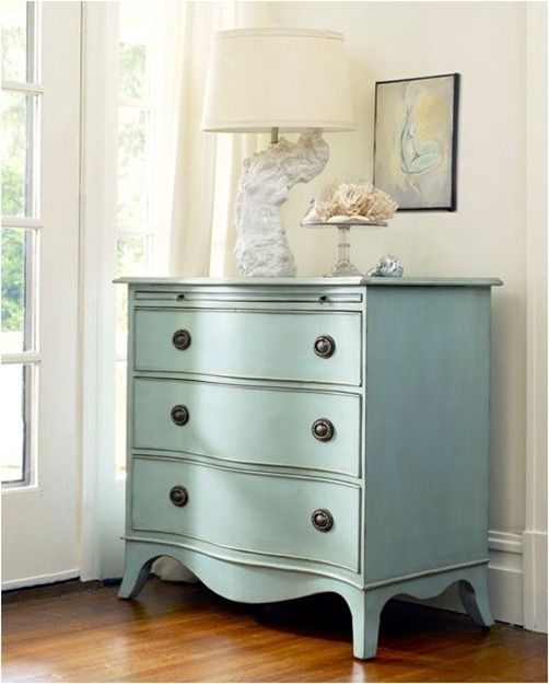 For HUTCH? robins egg blue dresser somerset bay cotton candy