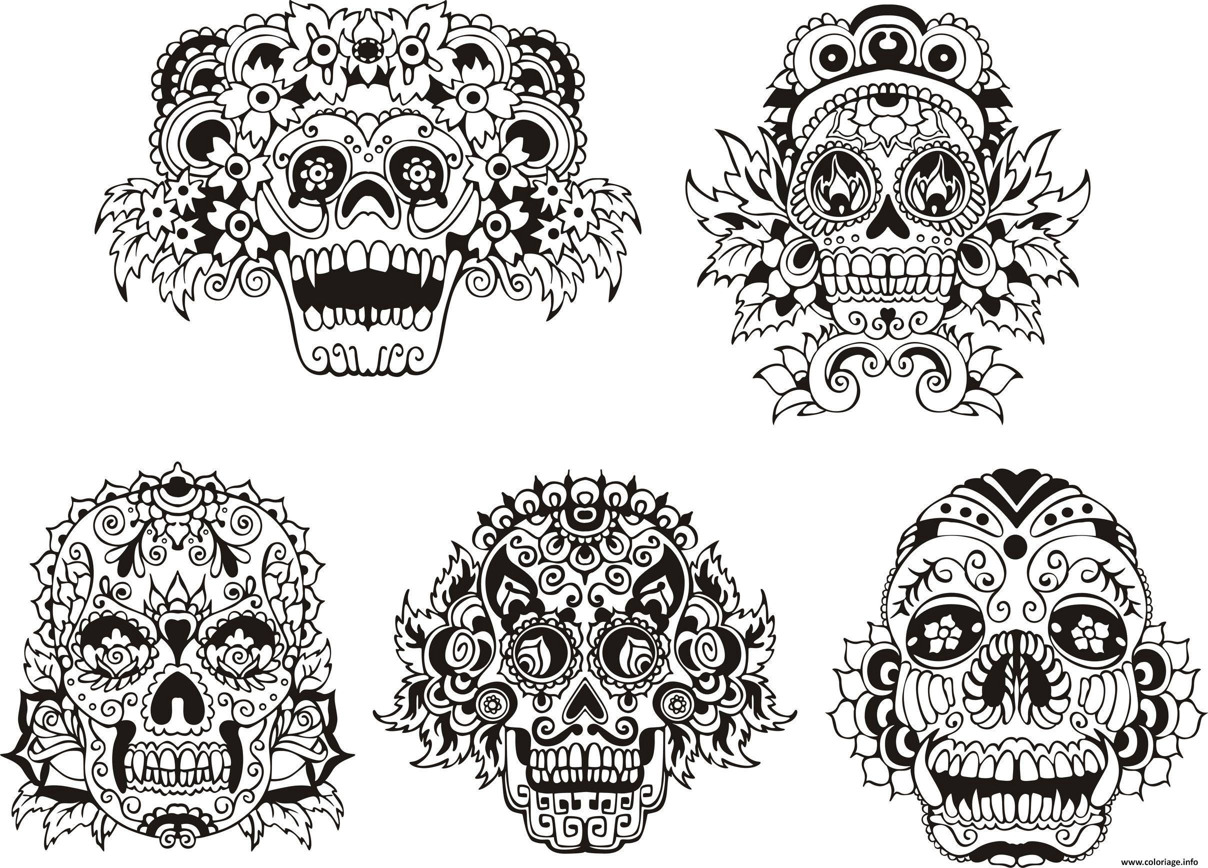 Impressionnant Coloriage à Imprimer Masque Halloween