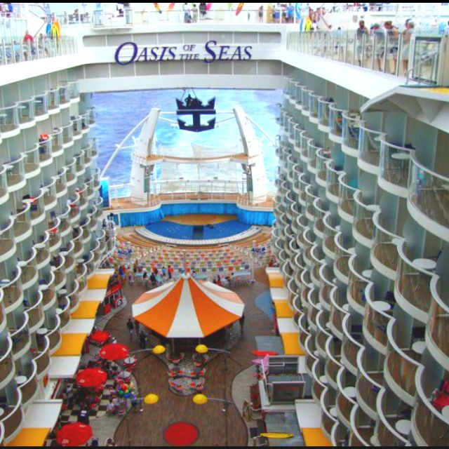 Oasis Of The Seas Royal Caribbean Cruise Ship Royal Caribbean Cruise Ship Royal Caribbean Ships Royal Caribbean