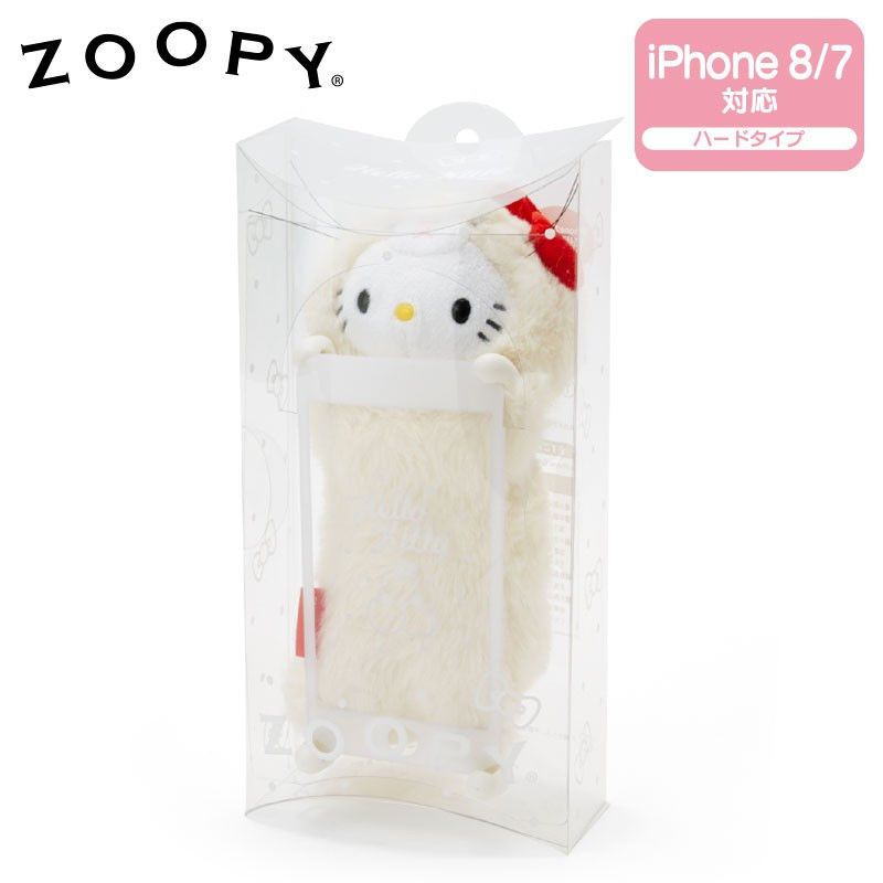 54dbd14b9 iPhone 7/8 Hello Kitty Case Cover Plush ZOOPY Sanrio smartphone case From  Japan #Sanrio